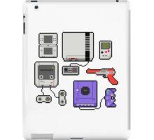Vintage consoles iPad Case/Skin