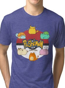 Pushemon Tri-blend T-Shirt