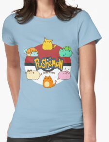 Pushemon Womens Fitted T-Shirt