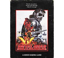 Metal Gear Solid 5 VHS Photographic Print