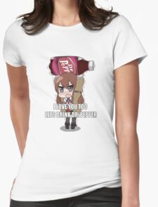 Steins;Gate Womens Fitted T-Shirt