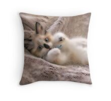 A Vision of Softness Throw Pillow