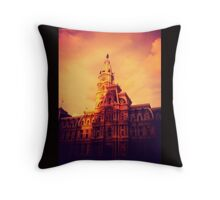 City Hall of Phiadelphia Throw Pillow