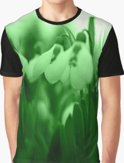 Snowdrop Abstract Graphic T-Shirt