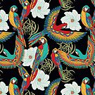 Paradise Parrots by Vickie Emms