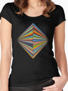 STRFKR LOGO  Women's Fitted Scoop T-Shirt