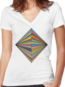 STRFKR LOGO  Women's Fitted V-Neck T-Shirt