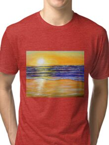 New Year's Eve Sunset Tri-blend T-Shirt