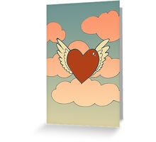 Winged Heart - Paper Products Greeting Card