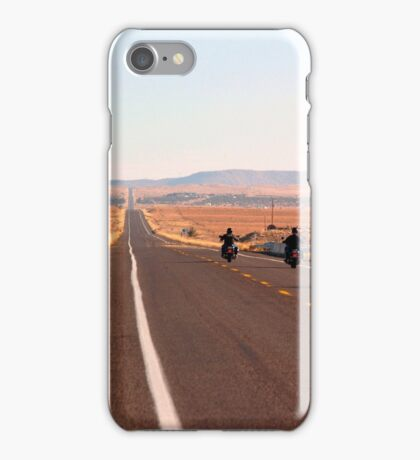 Bikers on Route 66 iPhone Case/Skin