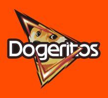 """Doritos """"Dogeritos"""" Doge Logo Kids Tee"""