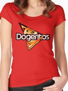 Doritos ''Dogeritos'' Doge Logo Women's Fitted Scoop T-Shirt