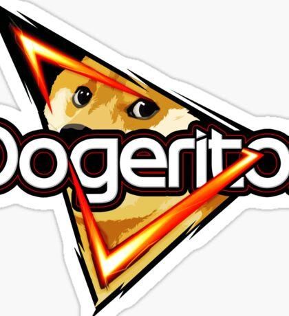 """Doritos """"Dogeritos"""" Doge Logo Sticker"""