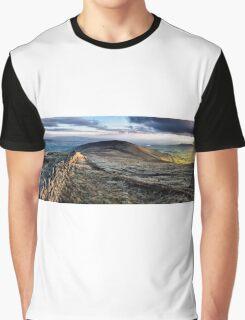 Parlick fell panorama Graphic T-Shirt