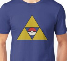 Triforce with Pokeball Unisex T-Shirt