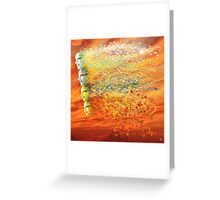 FOUR SEASONS WINDS Greeting Card