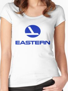 Eastern retro logo Women's Fitted Scoop T-Shirt