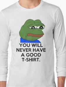 Feels Bad Man Long Sleeve T-Shirt