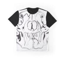 Bear Skull Graphic T-Shirt