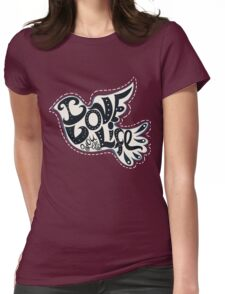Blossom heart Womens Fitted T-Shirt