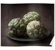 Still Life with artichokes 2 Poster