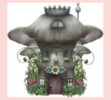 Mushroom Cottage guardhouse One Piece - Long Sleeve