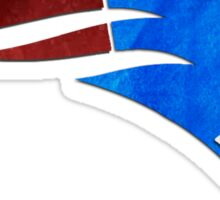 New England Patriots Watercolor Logo Sticker