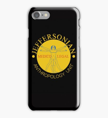 Jeffersonian Institute Logo (Bones) iPhone Case/Skin