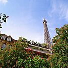 The Eiffel Tower in Springtime by Alex Cassels