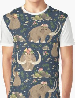 Cute mammoths Graphic T-Shirt
