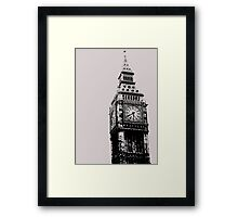 Big Ben - Palace of Westminster, London Framed Print