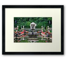 The Italian Garden  Framed Print