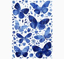 Blue Butterflies Unisex T-Shirt