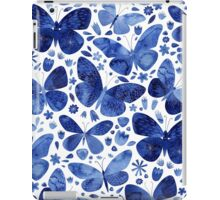 Blue Butterflies iPad Case/Skin
