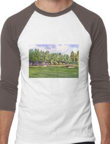 Pinehurst Golf Course Men's Baseball ¾ T-Shirt