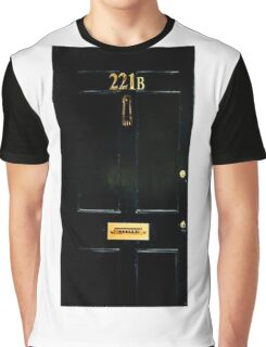 221B Door Graphic T-Shirt