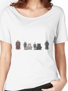 Game of Thrones Characters Women's Relaxed Fit T-Shirt
