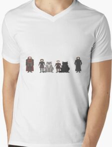 Game of Thrones Characters Mens V-Neck T-Shirt