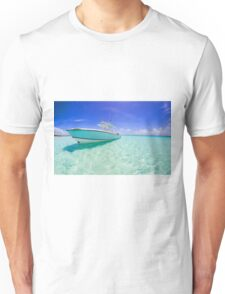 Boat on Water Unisex T-Shirt
