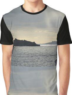 Rain over Pelican Key Graphic T-Shirt