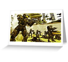 Halo 4 Spartans  Greeting Card