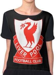 liverpool fc the red Chiffon Top