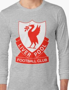 liverpool fc the red Long Sleeve T-Shirt
