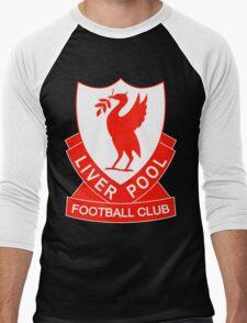 liverpool fc the red Men's Baseball ¾ T-Shirt