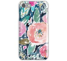 Gardens of Capitola Watercolor Floral iPhone Case/Skin