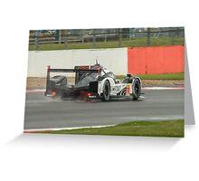 Porsche Team No 1 Greeting Card