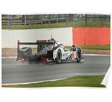 Porsche Team No 1 Poster