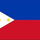 Philippines Flag Stickers by Mark Podger