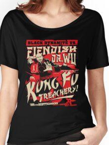 Black Dynamite vs. Fiendish Dr. Wu Women's Relaxed Fit T-Shirt
