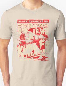 Black Dynamite vs. Fiendish Dr. Wu Unisex T-Shirt